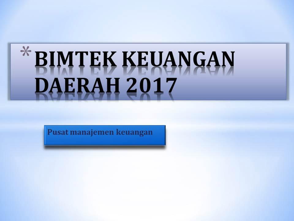 bimtek-keuangan-daerah-2017